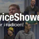 ServiceShowet i radioen